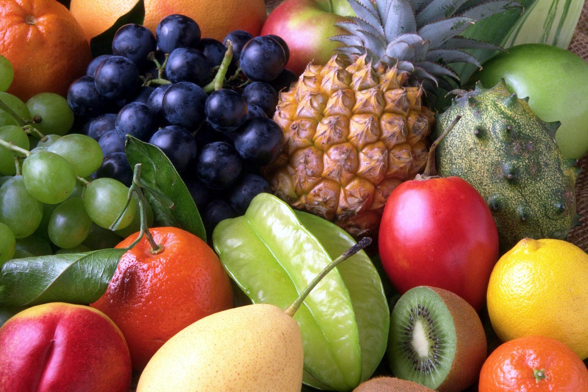 Unterschiedliche Früchte symbolisieren die verschiedensten menschlichen Charaktereigenschaften